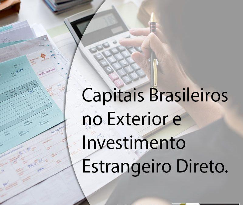 Declaração Anual de Capitais Brasileiros no Exterior de 2018 e Investimento Estrangeiro Direto.