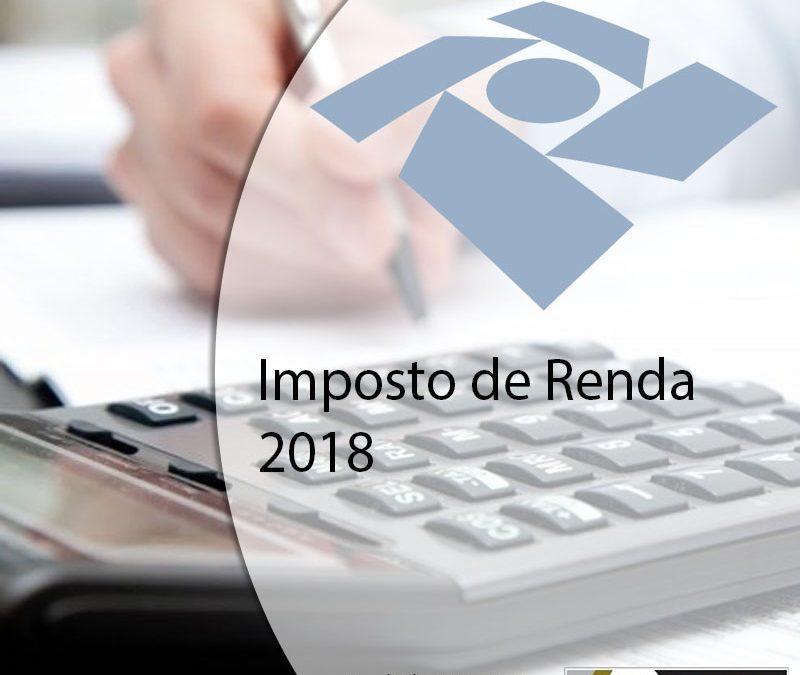 Imposto de Renda 2018.