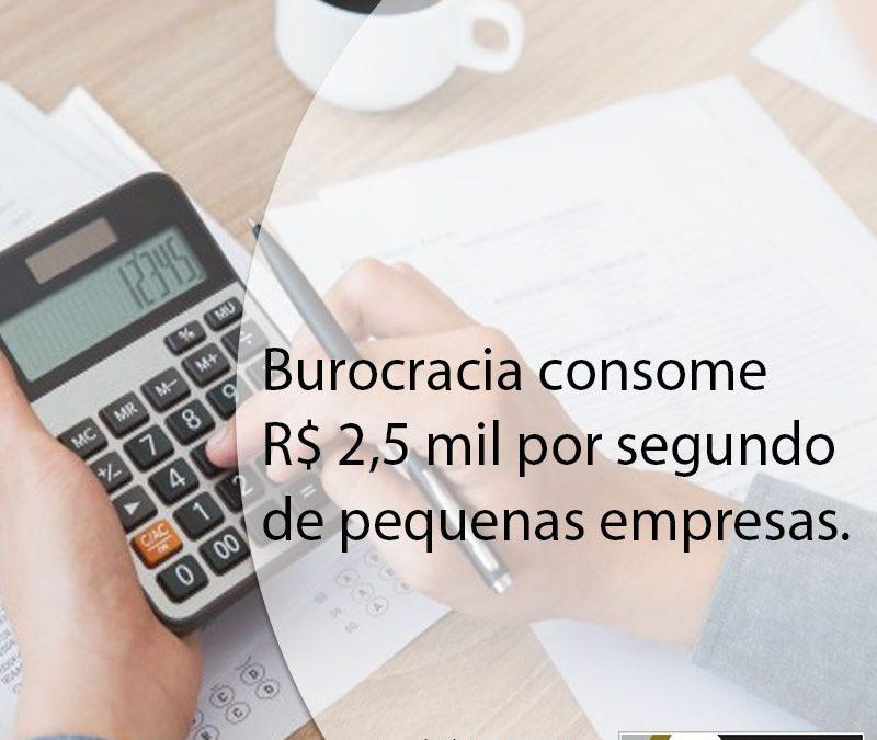 Burocracia consome R$ 2,5 mil por segundo de pequenas empresas.