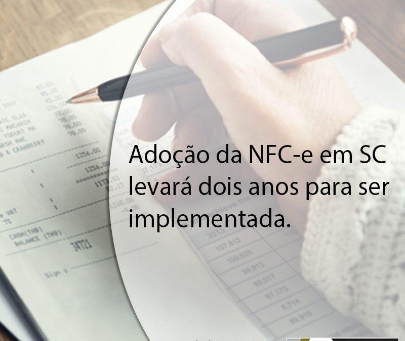 Adoção da NFC-e em SC levará dois anos para ser implementada.