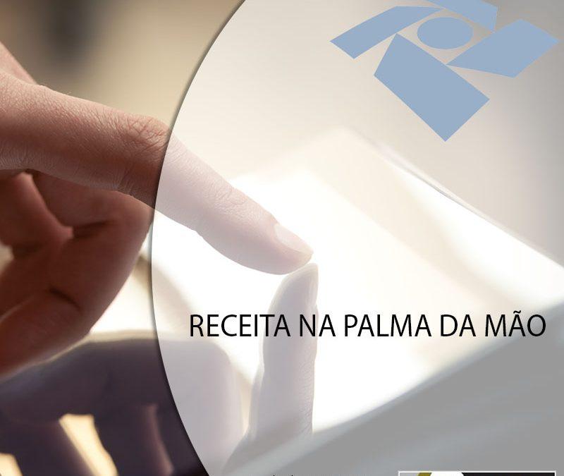 RECEITA NA PALMA DA MÃO.