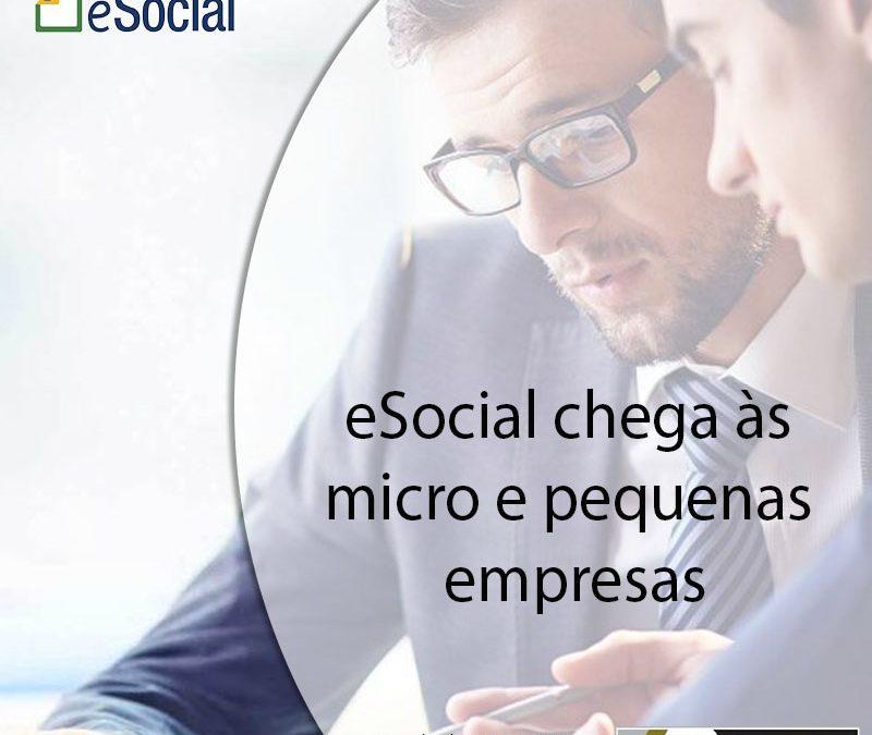 eSocial chega às micro e pequenas empresas.