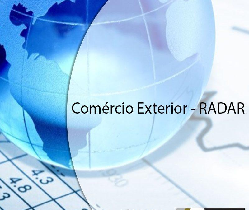 Comércio Exterior – RADAR.