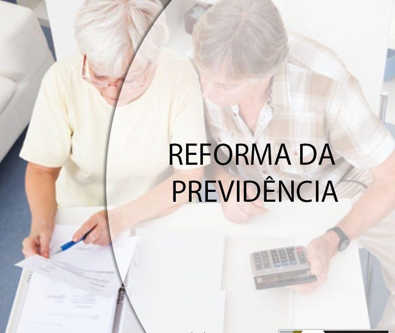 REFORMA DA PREVIDÊNCIA.