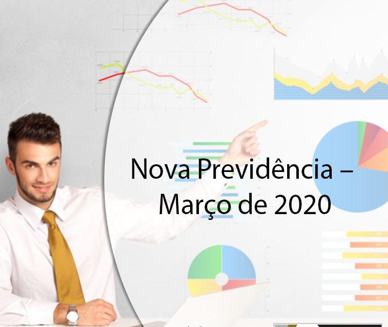 Nova Previdência – março de 2020