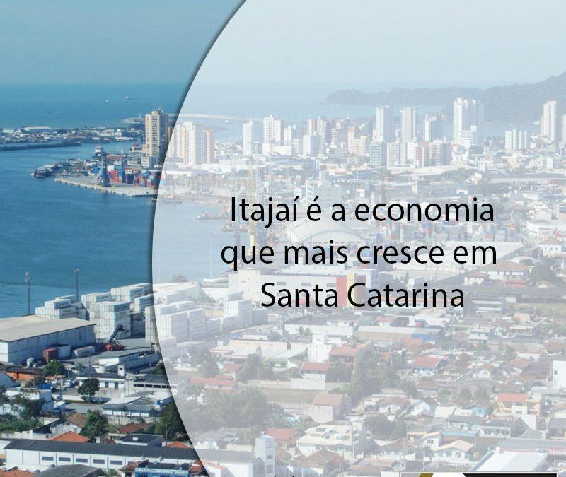 Itajaí é a economia que mais cresce em Santa Catarina.