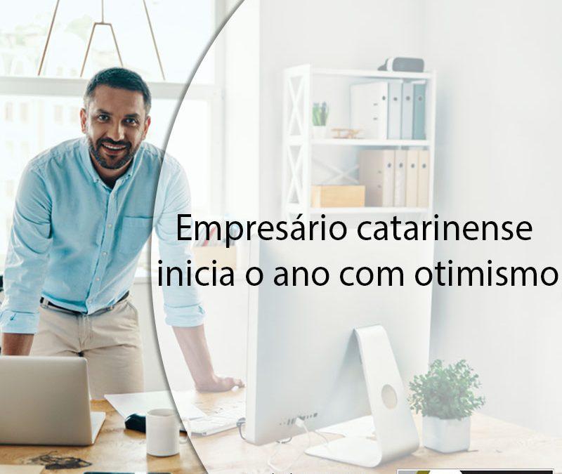 Empresário catarinense inicia o ano com otimismo.